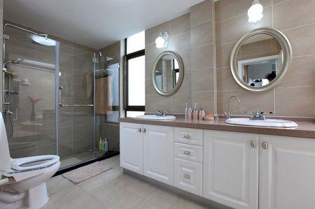 超大圆形浴缸 11图展示欧式风格大气家(2)