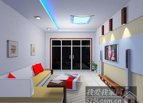 9款背景墙效果图 打造2011最潮客厅