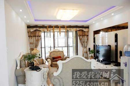 装修风格:简约欧式风格    家庭成员:一家三口    户型:2房2厅1图片