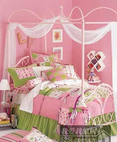 宅女们最爱 三种搭配装扮可爱女生卧室(2)