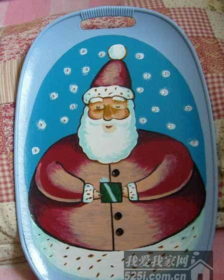 圣诞老人托盘
