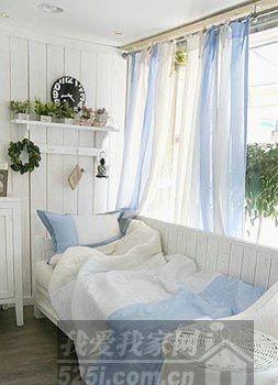唯美浪漫 韩式田园窗帘打造窗边最美风景(4)