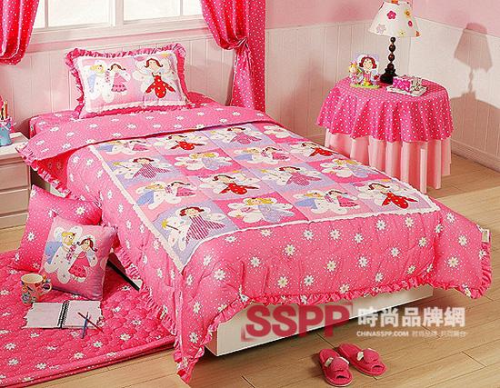 可爱小公主的卧室床品(6)