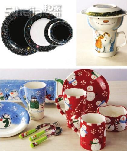 圣诞小饰物的编织图案