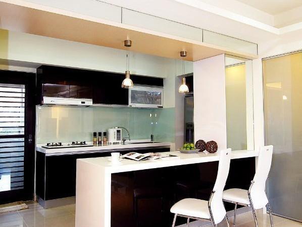 联动生活空间 魅力开放式厨房装修(4)图片
