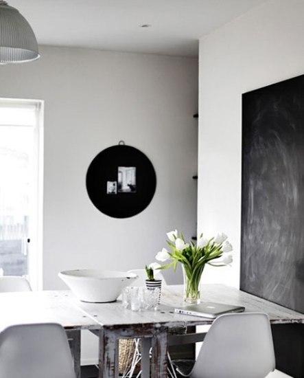 奇葩黑板背景墙设计 刷新你的想象力(2)