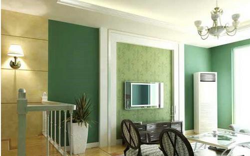 欧式客厅电视背景墙 掌控颜色之家