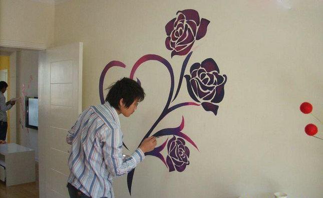 家居装修diy 墙面绘画轻松完成