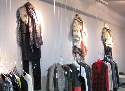 小服装店装修效果图高清图片