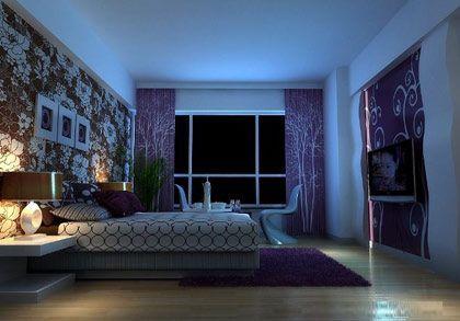 蓝色墙面如何搭配欧式风格
