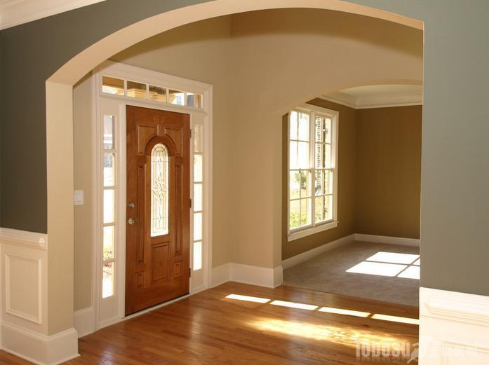 外墙窗户边框装修效果图