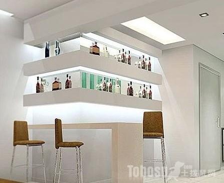 客厅酒柜设计图片