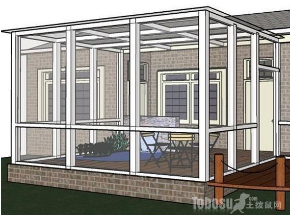 价格的区间也是有很大的区别的,露台阳光房从材料上分为钢结构阳光房
