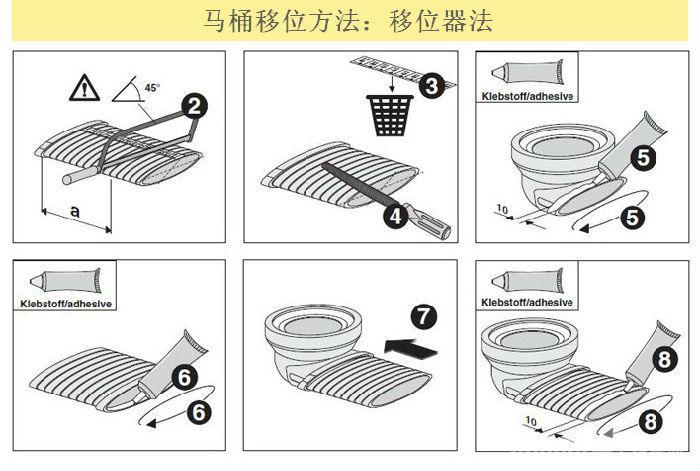 马桶排污管标准尺寸