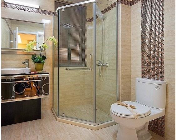 马赛克瓷砖打造不一样的卫浴间