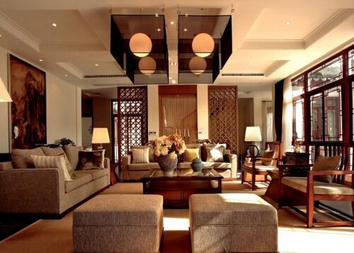 客厅中式吊灯安装高度是多少 如何安装客厅中式吊灯