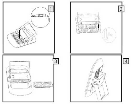 在安装过程中led泛光灯接线最好不超过25厘米