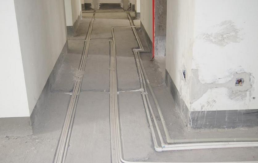 一般房屋装修水电前,首先需有详细的水电路走向