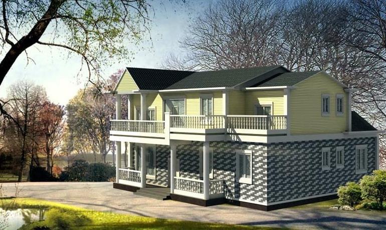 两层别墅阁楼楼梯设计 两层房屋设计技巧