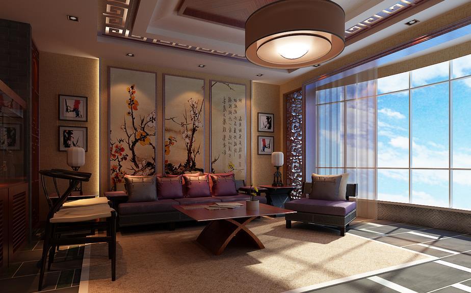 新中式家居装修 传统与时尚的结合图片