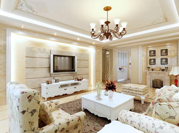 风格装修显得富丽堂皇、威严、典雅,小户型的房子使用欧式风格装修,更多体现出来的是浪漫、温馨。这样适应广泛的欧式家装是否打动了你的心呢? 欧式家装,就是欧洲风格的家庭装修。在欧式风格中,包括法式风格,意大利风格,西班牙风格,北欧风格,英伦风格,地中海风格等几大流派,是近年来很多家庭都非常喜欢的装修。接下来九正家居网通过一组欧式家装图,来欣赏欧式风格的各种美。 欧式家装图之法式风格 法式风格家居生活,体现法式浪漫之地,法国装饰艺术风格最集中体现在家具的设计方面,要特征在于布局上突出轴线的对称,恢宏的气势,高贵