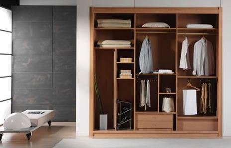 定制衣柜怎么选 定制衣柜的选购方法   移门实用的型材基材大体有两