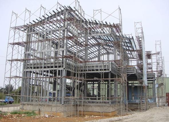房屋结构设计有许多别墅或透天厝