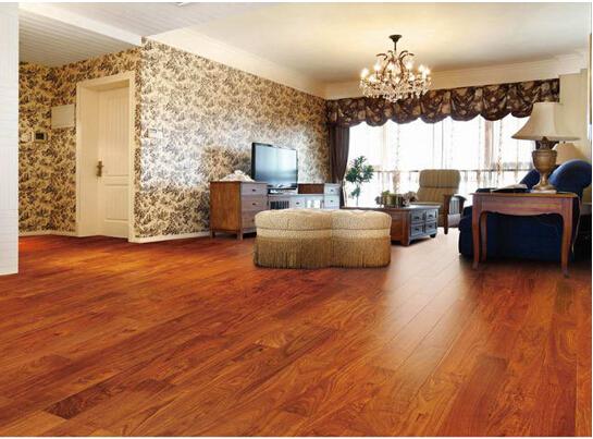 实木地板铺装方法三,直接粘贴铺设法