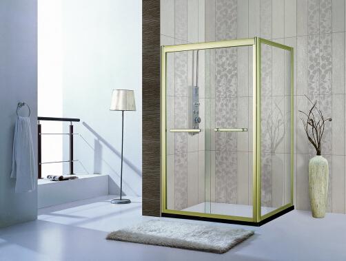 拉丝银等淋浴房的颜色不是电镀工艺