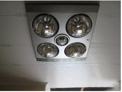 卫生间浴霸接线盒与开关接线图