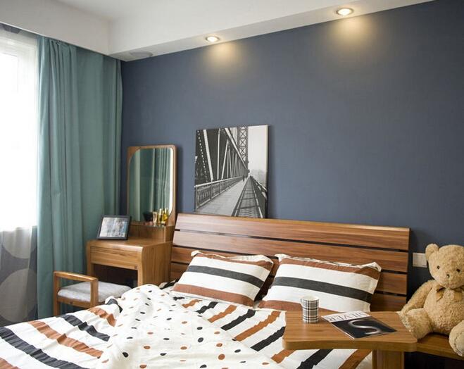 一,卧室墙面颜色搭配