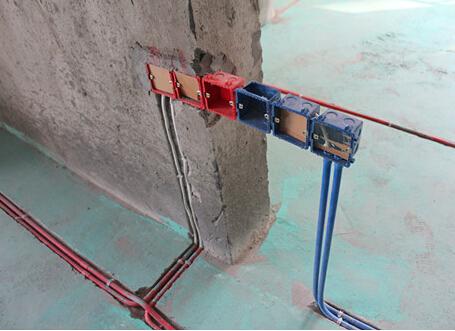 地面电路接线盒施工