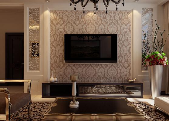 电视背景墙壁纸怎样选择
