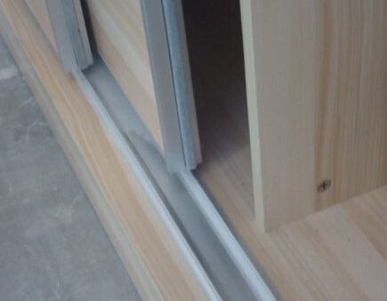 阳台窗帘滑道安装图解