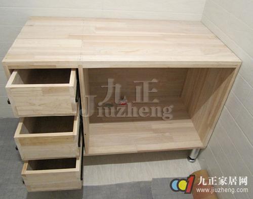 木工柜子固定图解