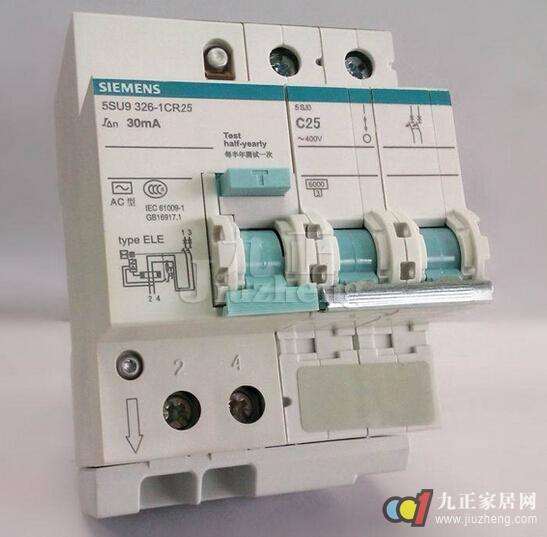 接零保护线应接入漏电保护器的中性线电源侧