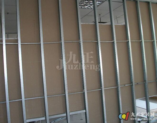 轻钢龙骨隔墙如何施工