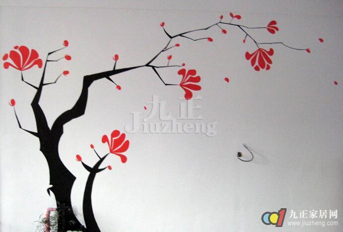 手绘墙如何绘画好看   手绘墙画的材料大多采用环保的丙烯颜料,不含