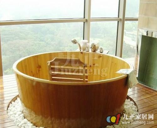 学知识 洁具选购与安装 木桶浴缸优缺点 木桶浴缸选购技巧  三,看木