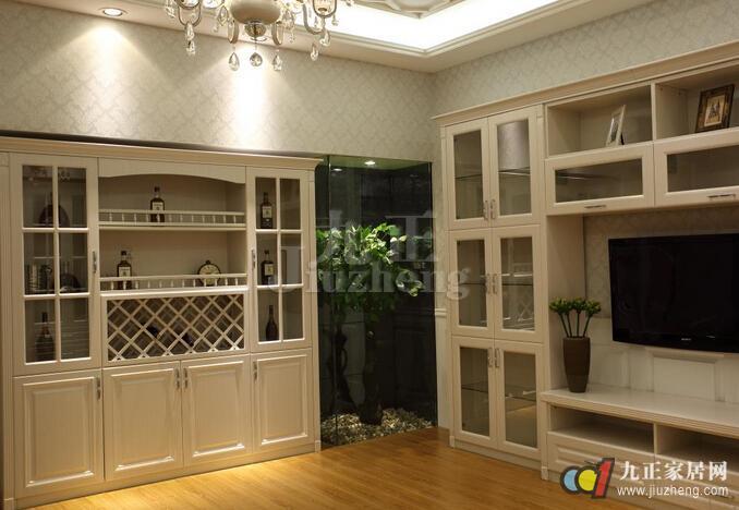 装修房子酒柜设计