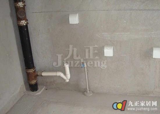 厨房下水管安装方法 厨房下水管安装注意事项高清图片