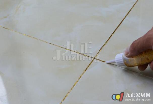 瓷砖专用填缝剂在家庭装修中使用的越来越多