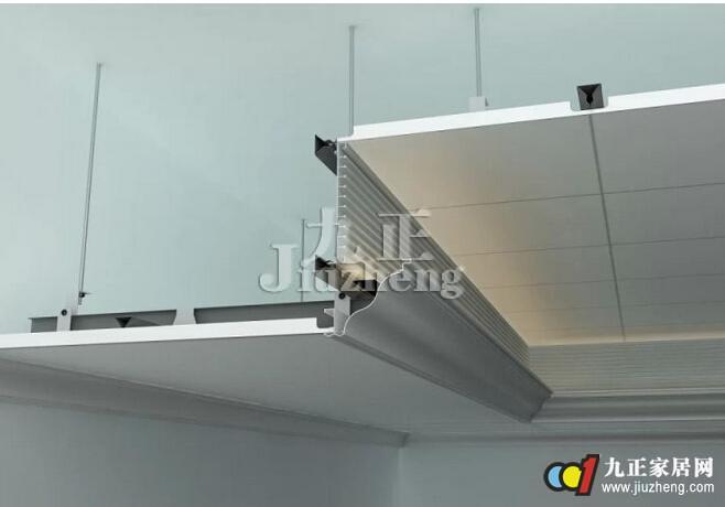 在安装结构方面,二级吊顶具有模块化快速安装的特点