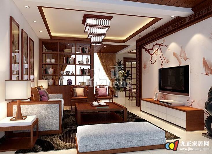 中式客厅吊顶怎样设计