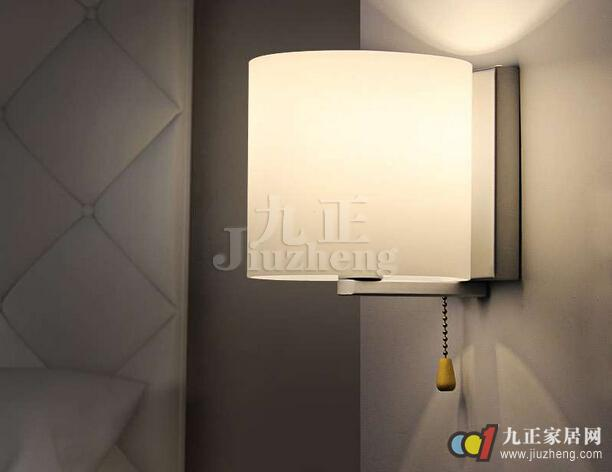 床头壁灯选购注意什么 床头壁灯安装方法