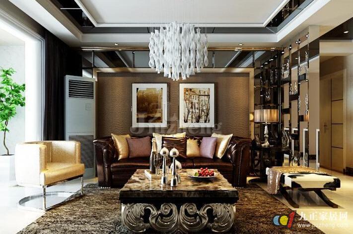后现代风格主义室内设计运用了众多隐喻性的视觉符号
