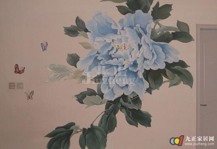 画用什么颜料好   墙面基础做白后,有专业技能的话,可以使用丙烯颜料