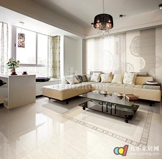 客厅地砖颜色如何搭配