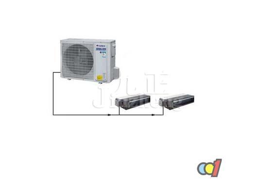 随着中小户型的逐年增多,一拖二空调开始在国内市场上崭露头角。什么是一拖二空调呢?下面跟九正家居网一起来看看一拖二空调的使用条件吧。 什么是一拖二空调 顾名思义,一拖二空调就是一台室外机拖带两台室内机的空调。系统只有一台室外机,可摆放在物业指定的设备平台,不再占用其他阳台空间,同时减少了噪音源;室内机隐藏安装在吊顶里,两台室内机分别向不同区域送风,拥有多种送回风方式,安装时与室内装潢相融合,营造出舒适感与美观度并存的生活环境。  一拖二空调的使用条件 1、必需是相邻的两个房间,因为两个室内机共用同一个室外机