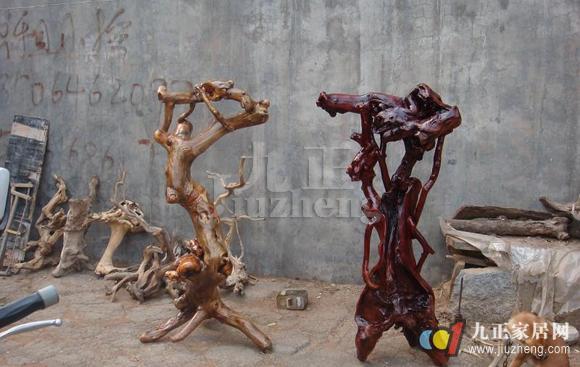 根雕花架怎么制作 根雕花架制作方法